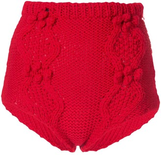 macgraw Cable Knit Knicker Shorts