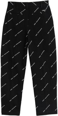 Obey Fulton Baggy Logo Printed Pants