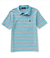 Ralph Lauren Little Boys 2T-7 Striped Short Sleeve Polo Shirt