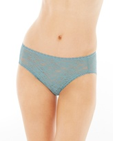 Soma Intimates Enticing Allover Lace High Leg Brief