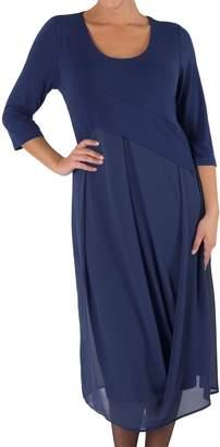 Riviera Chesca Jersey Chiffon Dress,