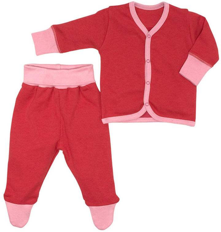 giggle Better Basics Cozy Cardigan and Footed Pant (Organic Cotton)