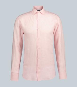 Frescobol Carioca Long-sleeved linen shirt