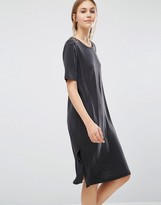 Just Female Pen T-Shirt Dress
