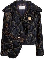Peter Pilotto Cropped Velvet Jacket
