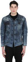 11 By Boris Bidjan Saberi Destroyed Washed Cotton Denim Jacket