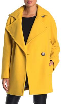 Calvin Klein Woven Oversized Notch Lapel Coat