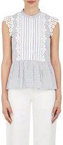 Sea Women's Crocheted-Trim Cotton Sleeveless Top