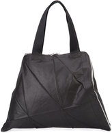 Issey Miyake Glossy Origami Structured tote