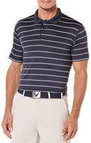 Callaway Golf Performance Stripe Short Sleeve Polo Shirt