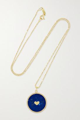 Jennifer Meyer 18-karat Gold, Lapis Lazuli And Diamond Necklace - one size