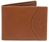 Ghurka Men's Leather Wallet With Id Case - Beige