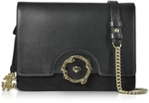 Roberto Cavalli Genuine Leather and Suede Shoulder Bag