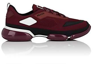 Prada Men's Cloudbust Tech-Knit Sneakers - Wine