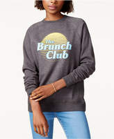 Kid Dangerous Cotton Brunch Club Graphic Sweatshirt