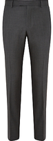 Richard James Mayfair Pick And Pick Suit Trousers, Charcoal