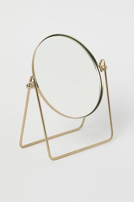 H&M Metal Table Mirror - Gold