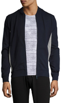 Bikkembergs Zipped Cotton Sweater