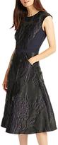 Phase Eight Adara Jacquard Dress, Black