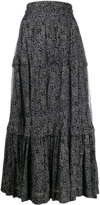 Etoile Isabel Marant floral print maxi skirt