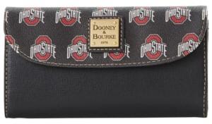 Dooney & Bourke Ohio State Buckeyes Saffiano Continental Clutch