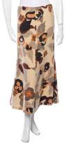 Dries Van Noten Wool Midi Skirt