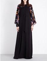 Emilio Pucci Embellished silk-crepe kaftan