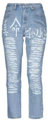 Levi's History Repeats With HISTORY REPEATS with Denim trousers