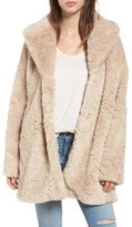 Steve Madden Women's Shaggy Faux Fur Coat