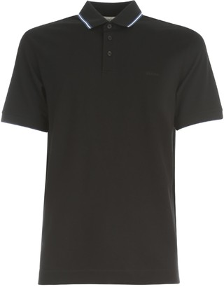 Ermenegildo Zegna Cotton Piquet Stretch Polo