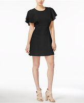 Kensie Flutter-Sleeve Party Dress