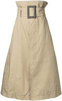 Toga pleated skirt - women - Polyester - 38