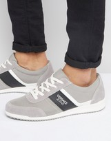 Versace Jeans Runner Trainers In Grey
