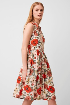 French Connenction Iona Valetudo Print Sleeveless Dress
