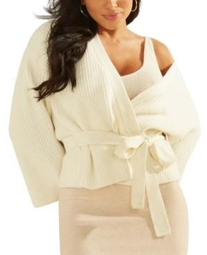 GUESS Luiza Drop-Shoulder Kimono Sweater