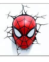 Marvel Spiderman Face 3D Deco Wall Light