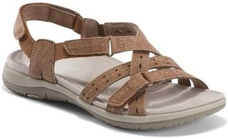 Earth Origins Suede Adjustable Sandals - SavoySammie