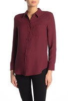 Equipment Reese Button Front Blouse
