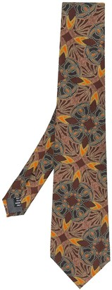 Gianfranco Ferré Pre Owned 1990 Abstract Print Tie