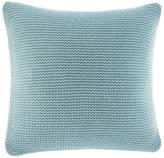 Nautica Bell Point Aqua Knit Throw Pillow