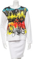 Cédric Charlier Long Sleeve Printed Sweatshirt