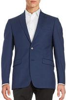 Calvin Klein Two-Button Wool Jacket