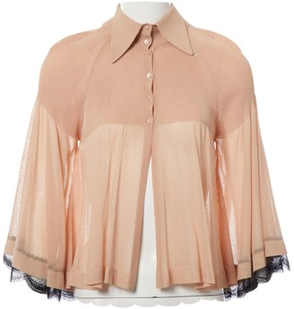 Chanel \N Beige Viscose Tops