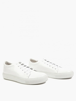 Acne Studios Adrian Cupsole Sneakers in White