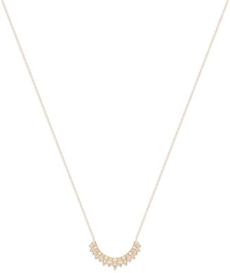 Piaget Rose Gold and Diamond Sunlight Pendant Necklace