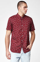 RVCA Ring Port Short Sleeve Button Up Shirt