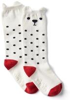 Gap Dotty bear socks