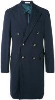 Boglioli double breasted coat - men - Viscose/Virgin Wool/Spandex/Elastane/Cupro - 48
