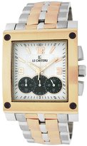 Le Château Men's 5403MTT_ROSE_WHTandBLK Sports Dinamica Collection Titanium Chrono Watch