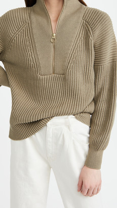 Closed Zip Knit Sweater